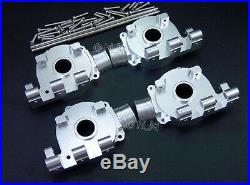 2Set ALLOY F/R DIFFERENTIAL GEAR BOX Fits MONSTER GT