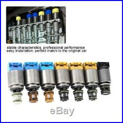 7pcs 1068298044 Shift Control Gearbox Solenoid Valve Kit Fit for 6HP19 ZF6HP26