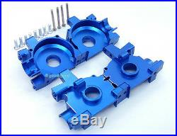 Alu F+R Differential GearBox Fit MP7.5 Mp777 MP 7.5 777