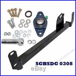 BLACK Steering Gear Box Stabilizer Bar fits 03-08 Dodge RAM 2500/RAM 3500 4WD
