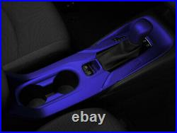 Blue Inner Gear Box Shift Panel Decoration Trim Fit For 2019-2021 Toyota Corolla