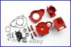 CNC Alloy Center Diff Gear Box Kit Fit Losi 5ive T Rovan LT King Motor X2
