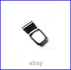 Carbon Fiber Console Gear Shift Box Panel Multimedia Fit For BMW 430i M440i 2021