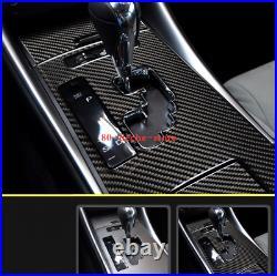 Carbon Fiber Gear Shift Box Panel Cover Trim Fit For LEXUS IS250/300 2006-2012