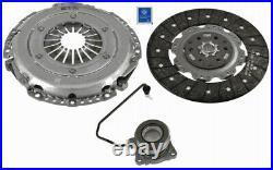 Clutch Kit 3pc (Cover+Plate+CSC) fits VAUXHALL INSIGNIA A 2.0D 08 to 17 240mm