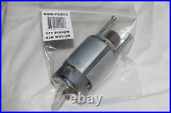 DYNATRAX ALSO FITS Power Wheels #7R Gearbox Motor 17T Pinion 00968-2720