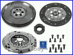 Dual Mass Flywheel DMF Kit with Clutch fits VW TRANSPORTER Mk5 1.9D 03 to 09 New