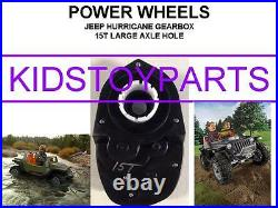 Dynatrax Also Fits Power Wheels15t Large Axle #7r Jeep Hurricane Gearbox Upgrade