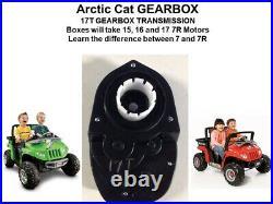 Dynatrax Also Fits Power Wheels 15t 16t 17t Gearbox Arctic Cat Silverado Jeeps