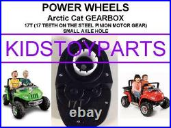 Dynatrax Also Fits Power Wheels 17t #7r Gearbox Arctic Car Prowler Vw Beetle
