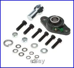 Fits 03-08 Dodge Ram 2500 Cummins Steering Gear Box Stabilizer Brace + Bump Stop