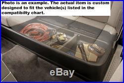 Fits 14-19 Silverado Crew Cab Husky Liners Gearbox Under Seat Storage Box 09031
