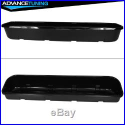 Fits 15-18 Ford F150 4DR Underseat Storage Box Black