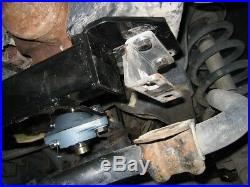 Fits 94-01 Ram 1500 4WD Steering Gearbox Stabilizer Brace with Steel Sway Bar Drop