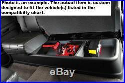 Fits 99-16 F250 F350 Super Cab Husky Liner Gearbox Under Seat Storage Box 09211
