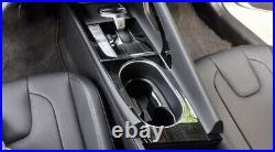For Hyundai Elantra 2021 Gear Box Shift Panel Decoration Cover Trim Black Steel