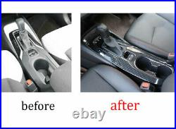 For Toyota Corolla 2019-2021 Carbon Fiber Inner Gear Box Shift Panel Cover Decor