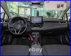 For Toyota Corolla 2019-2021 Purple Gear Box Shift & Cup Holder Panel Cover Trim