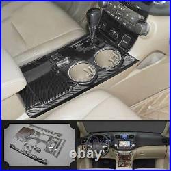 For Toyota Highlander 2009-2014 Carbon Fiber Gear Box Shift & Cup Holder Panel
