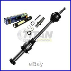For VW T5 2.0 Tdi Bitdi 5 Speed Manual Gearbox Shaft Stub Axle + Driveshaft Fits