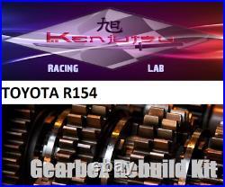 Gearbox & Synchro Rebuild Kit fits Non Tripod Toyota R154 from Mk3 Supra MA70