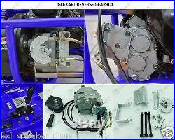 Go Kart Forward Reverse Gear box Fits 2HP 13HP Engine 41P 10T or 12T TAV30