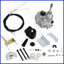 Go Kart Forward Reverse Gear box Fits 2HP-13HP Engine 4 Stroke Hydraulic Gearbox