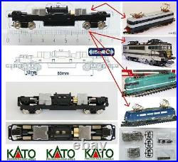 Kato Chassis-Frame 8 Wheel Hydraulics&gearbox mm. 90 Fits IN FS E444 Sncf. Scala-n