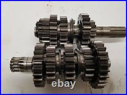 Ktm 250 Exc 2000 Gearbox Input Output Shaft Gears (may Fit Sx 300 380)