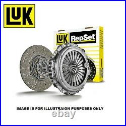 LUK 3 Piece Clutch Kit with bearing 624328500 Fits AUDI