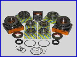 M32 Gearbox, Uprated bearing kit Fits pre 2011 case 9 bearings 3 seals