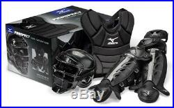 Mizuno MPP1200 Prospect Junior Youth Catchers Gear Box Set Fits Ages 6-8 New
