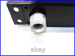 Mocal Oil Cooler 16 Row 115mm Matrix 1/2BSP Fittings Diff Gearbox Cooler Black
