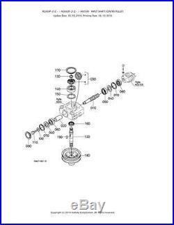 New OEM Kubota Gearbox Gear Box K5576-33100 K5576-33105 Fits RCK48P-222Z