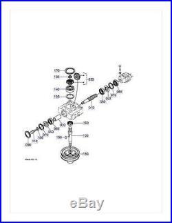 New OEM Kubota Gearbox Gear Box K5615-33106 Fits RCK54-18Z RCK60-21Z RCK60-28Z