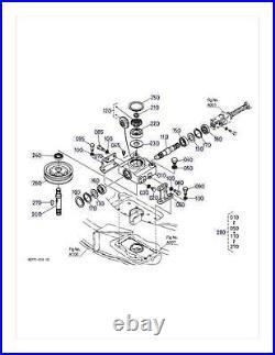 New OEM Kubota Gearbox Gear Box K5763-33100 Fits RCK60-24B RCK60-27B RCK60-30B