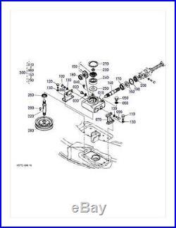 New OEM Kubota Gearbox Gear Box K5781-33102 Fits RCK60-24B RCK60-27B RCK60-30B