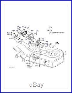 New OEM Kubota Gearbox K5211-33110 Fits RCK48GR S/N Above 15640
