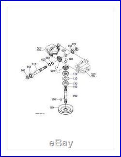 New OEM Kubota Gearbox K5575-33102 Fit RCK48-20ZG RCK48GR S/N 15639 RCK48S-222Z