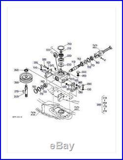 New OEM Kubota Gearbox K5618-33100 K5618-33106 Fits RCK54P-321Z S/N 29999