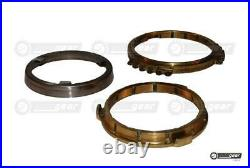 PK5 PK6 Gearbox 3 Part 3rd Gear Synchro Ring Set fits Nissan Primistar Interstar