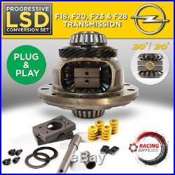 Progressive Limited Slip Diff set Fits Opel / Vauxhall GSi (F Gearbox) LSD