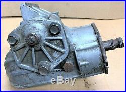 Pull Off Oem Manual Steering Gear Box 2537349 Fits Mopar A Body