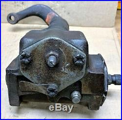 Pull Off Oem Manual Steering Gear Box C60r3550a Fits Ford Mustang Torino Cyclone