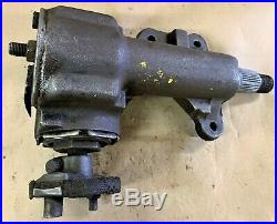Pull Off Oem Manual Steering Gear Box C6zr3550a Fits Mustang Gt Shelby Smb D