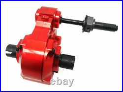 Rovan 1/5 Baja CNC Quick Change Aluminum Transmission Kit Fit HPI Baja 5b 5T Red