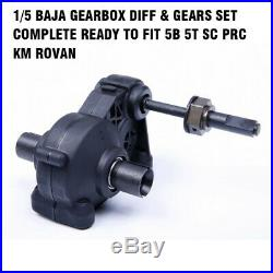 Rovan 1/5 Baja Gearbox Diff & Gears Set Complete Ready To Fit 5B 5T SC PRC KM