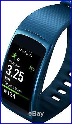 Samsung Gear Fit2 SM R360 Sports Band Fitness Running Smart Watch Heart Rate