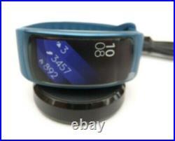 Samsung Gear Fit 2 Smart Watch SM-R360 Blue Large Bundle NEW UNUSED NO Box