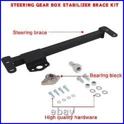 Steel Steering Stabilizer Brace Gearbox For 2009-2016 Dodge Ram 2500 3500 4WD